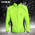 WOSAWE Winddicht Radfahren Jacken Sport Mantel Wasserdicht Atmungsaktiv Reflektierende Reiten Kleidung MTB Bike Jersey Wind Mantel-in Fahrrad Jacken aus Sport und Unterhaltung bei