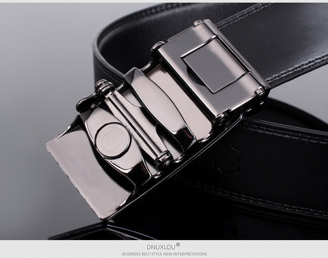 2016 new arrival men automatic buckle brand designer leather belt  business belt mens strap high quality and luxury cummerbund
