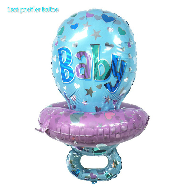 Blue pacifier balloo Presents for one year old boy 5c64f7ebeed00