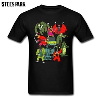 Scooby Doo Mystery Machine Kids Tv Cartoons Cool Cool T Shirts Man Round Collar Short Sleeve