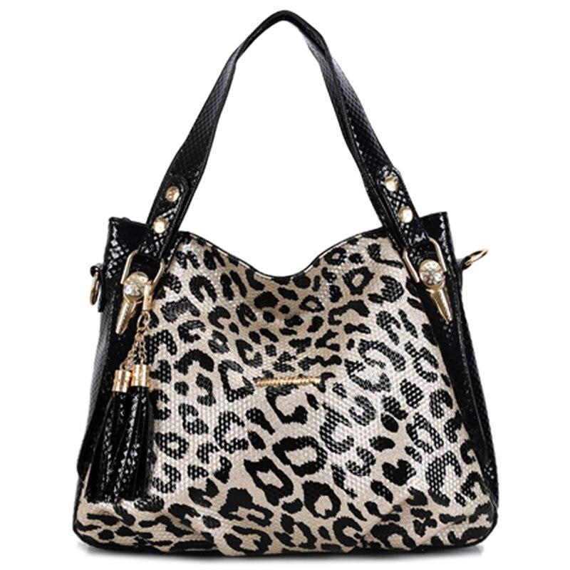 Sacs à main de luxe femmes sacs designer 2018 léopard Dumplings messenger sac shopper sac femme fourre-tout en cuir sacs à bandoulière sac