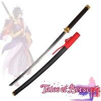 free-shipping-carbon-steel-katana-anime-sword-tachi-rokurou-rangetsu-cosplay-tales-of-berseria-new-no-sharp-supply