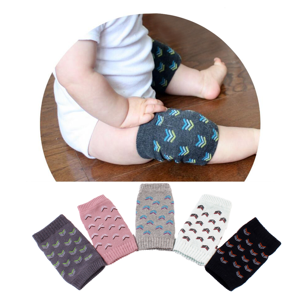 Baby Safety Knee Protection Pads Cartoon Cotton Kids Baby Safety Knee Pads Crawling Prot ...