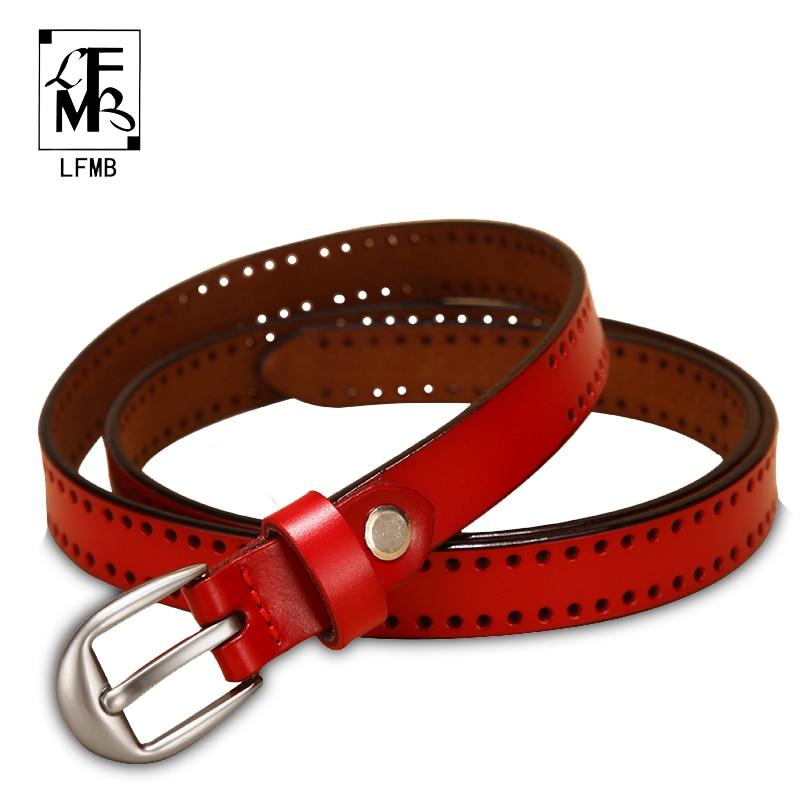 [LFMB] Belts For Women Leather Belt Female Women Genuine Leather Strap Women Straps Leather Dress Belt Cinturon Mujer Piel