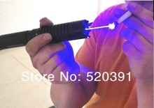Sale NEW High Power Military Blue Laser Pointers 30000mw/30W 450nm SOS Lazer Flashlight Burning Match/Dry Wood/Burn Cigarettes+5 Caps