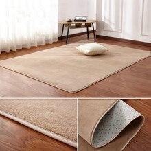 Бархатный ковер с короткой шерстью 160x200, коралловый ковер, напольный коврик для гостиной, коврик для журнального столика, одеяло для спальни...