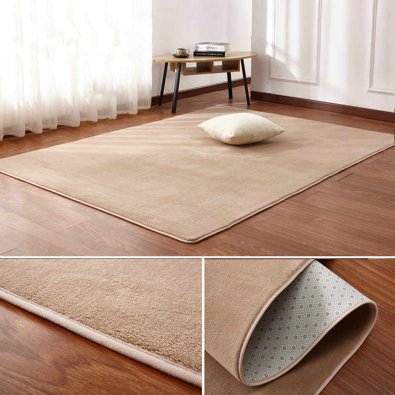 living room floor mats farmhouse furniture detail feedback questions about 160 x200 short haired coral velvet carpet mat coffee table bedroom