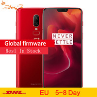 Original OnePlus 6 8GB 256GB Snapdragon 845 Octa Core AI Dual Camera 20MP+16MP Face Unlock Android 8 Smartphone Mobile phone