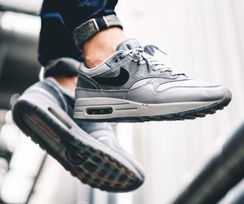 US $69.26 20% OFF Nike Air Max 1 Pompidou Men's Breathable Running Shoes Sport Outdoor Sneakers Athletic Designer Footwear 2019 New Jogging AV3735 in