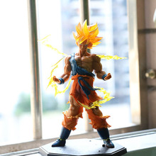 Super Saiyan one action figurine Dragon Ball GT Z Toy Vegeta Broli Goku Gogeta Figures Toys for Children Gift Kids toy super heroes single sale dragon ball z figures general blue vermouth goku future trunks golden freiza bricks children gift toys