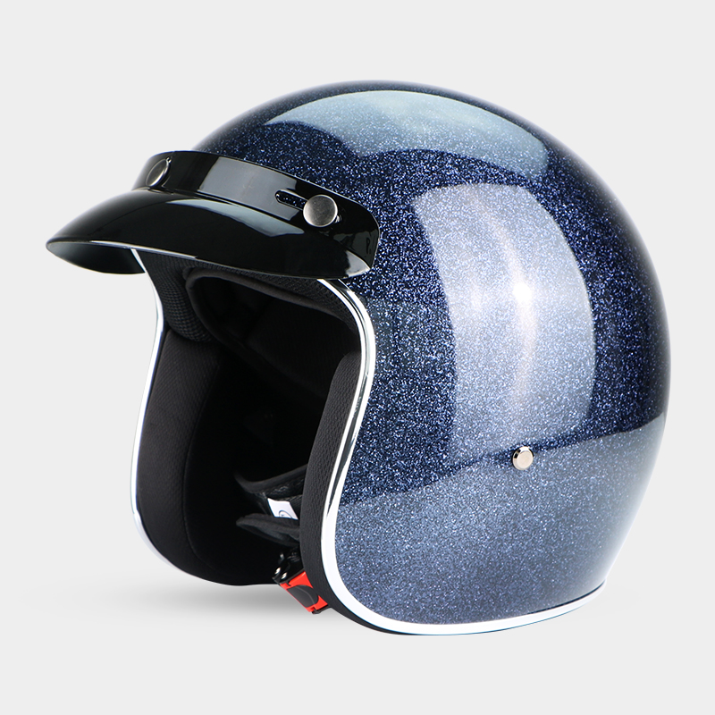 New Retro Motorcycle Helmets Open 3 4 Face Motorcycle Helmet 9 colors chopper motorcycle retro vespa