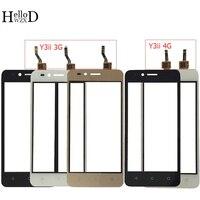 Cep telefonları ve Telekomünikasyon Ürünleri'ten Cep Telefonu Dokunmatik Paneli'de 4.5 ''Dokunmatik Ekran Için Huawei U22 Y3ii Y3 II Y3 2 LUA U03 LUA L03 LUA U23 LUA L13 LUA L21 dokunmatik ekran digitizer sensör paneli