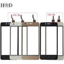 4.5 ekran dotykowy dla Huawei U22 Y3ii Y3 II Y3 2 LUA U03 LUA L03 LUA U23 LUA L13 LUA L21 ekran dotykowy panel czujnika digitizera