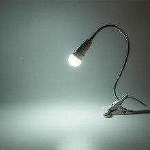 Регулируемый светодиодный свет книга мини-клип на гибкий яркий светодиодный свет лампы Горячая распродажа! Книга настольная лампа для путешествий Спальня книга подарок