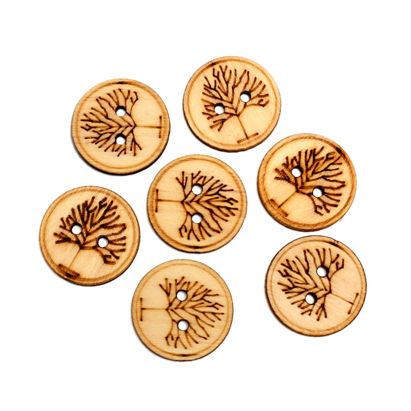 50pcs Natural Round Tree Wood Craft Embellishments MDF Wooden Cutout  Flatback Scrapbooking for Cardmaking DIY Wedding Decoration-in Wood DIY  Crafts from ... 26c9dcd08104