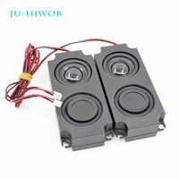 2 uds 4R 3W altavoz Multimedia para máquina publicitaria doble diafragma con caja de alambre integrado R altavoz 45*100*21MM