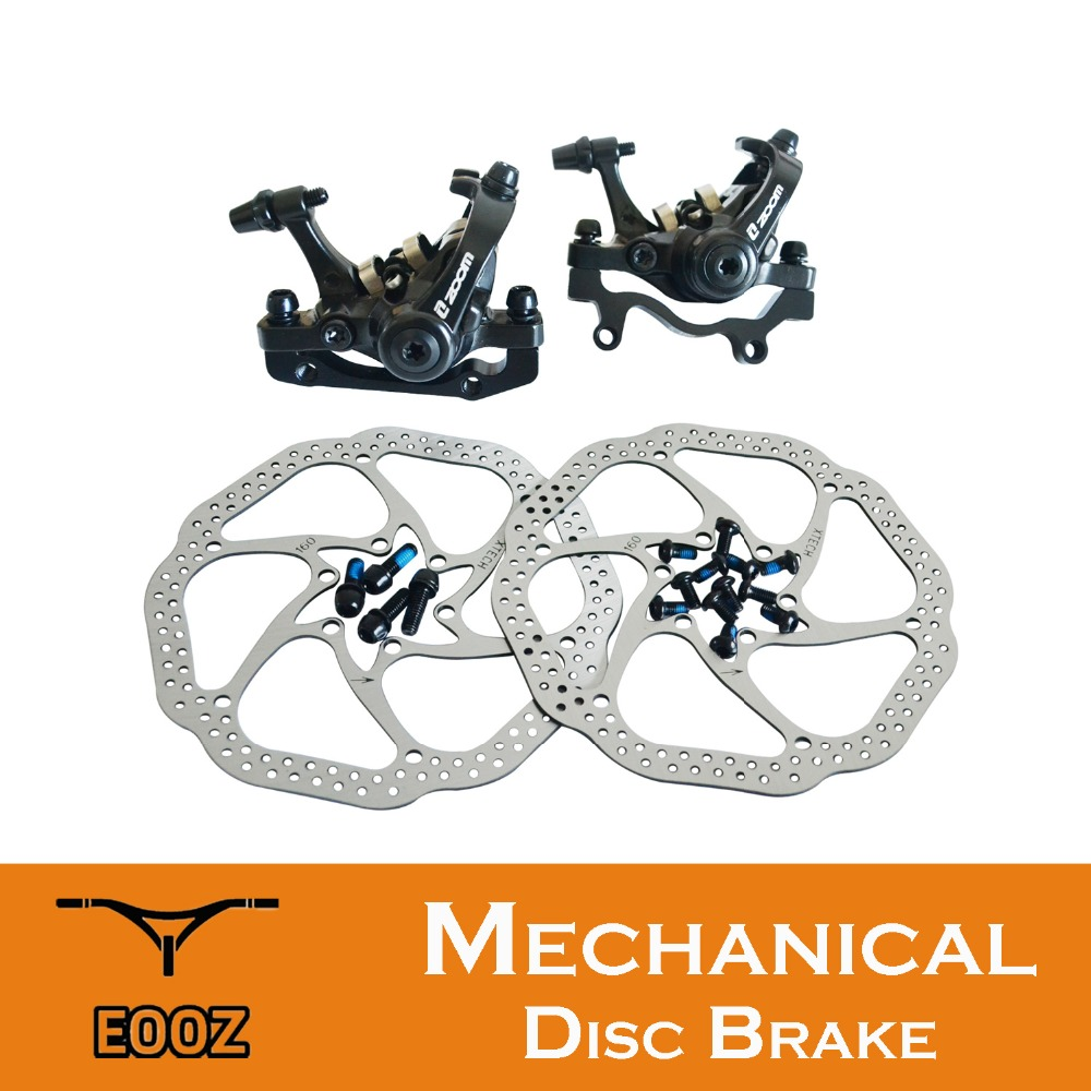 купить 2017 New ZOOM DB680 DB-680 MTB Mechanical Disc Brake Two sides Braking Force по цене 2647.82 рублей