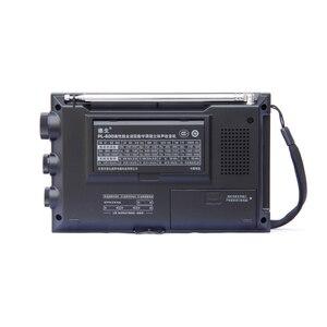 Image 2 - TECSUN PL 600 راديو رقمي ضبط كامل الفرقة FM/MW/SW SSB/PLL توليفها استقبال راديو ستيريو (4xAA) PL600 راديو محمول