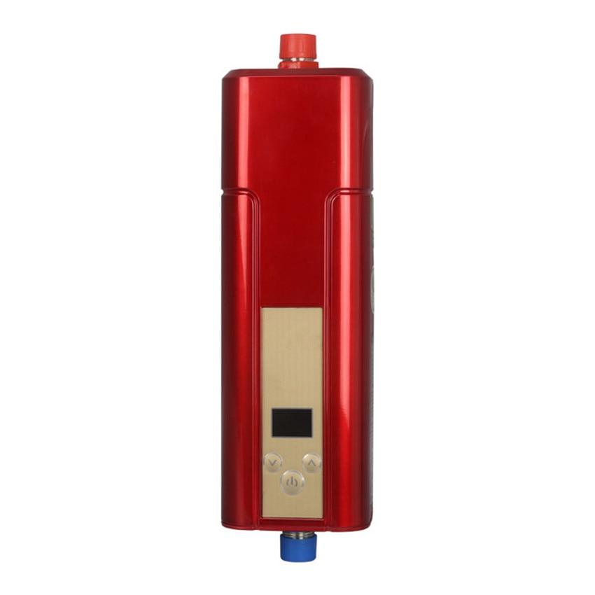 2100-5500 Вт Мгновенный водонагреватель кран Электрический водонагреватель ABS, закаленное стекло материал DSF42-C03 Электрический водонагреватель