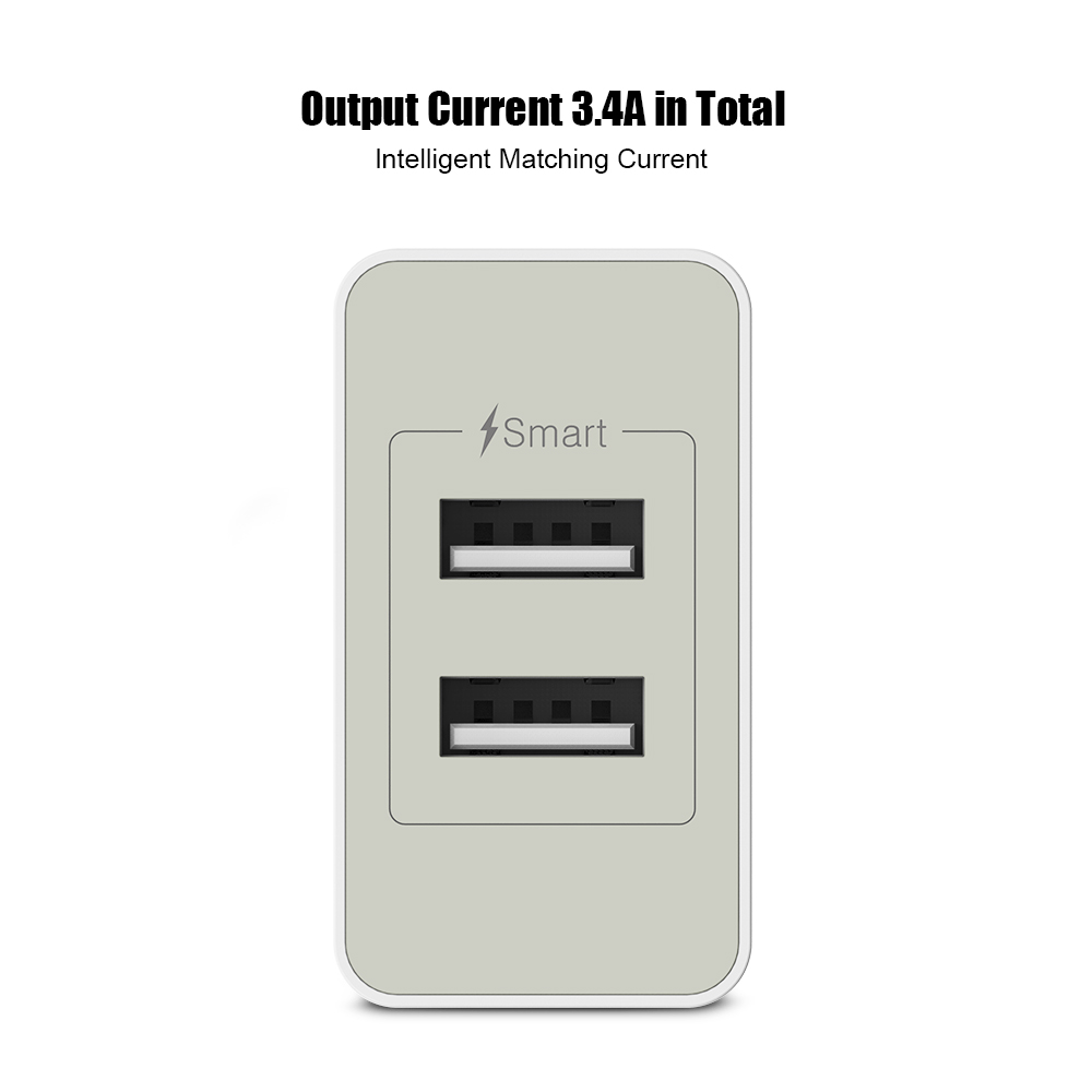 FLOVEME Universal USB Charger Qualcomm Quick Charge 3.0 (Quick Charge 2.0 Compatible) Fast Phone Charger For Samsung Xiaomi HTC