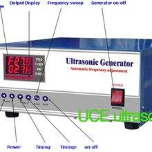 600 Вт/80 кГц высокочастотный ультразвуковой генератор с ультразвуковыми чистящими преобразователями