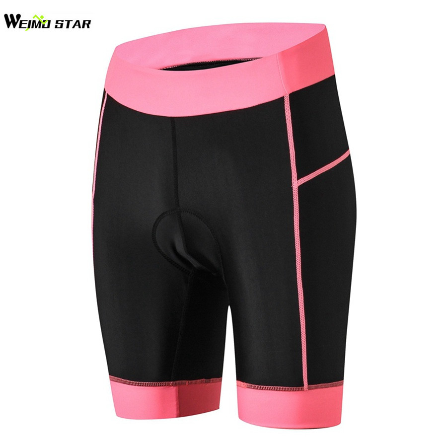 2019 Cycling Shorts Women Summer Ropa Ciclismo Girls Bicycle Shorts 3D Gel Coolmax Pad Outdoor MTB Tight Riding Bike Short Pants