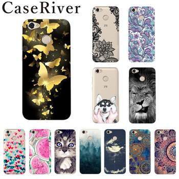 ZTE Blade A6 Case UV Painting 24 Patterns TPU Soft Silicone Cover For ZTE A6 Case Cover Coque 5.2 inch Fudas image