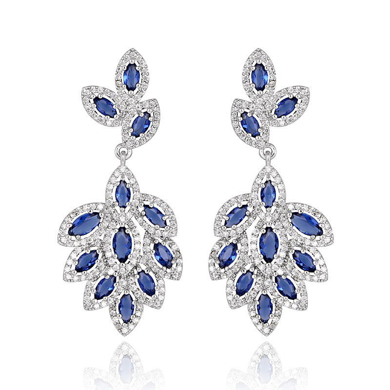 Popular Royal Blue Chandelier Earrings-Buy Cheap Royal Blue ...:royal blue chandelier earrings,Lighting