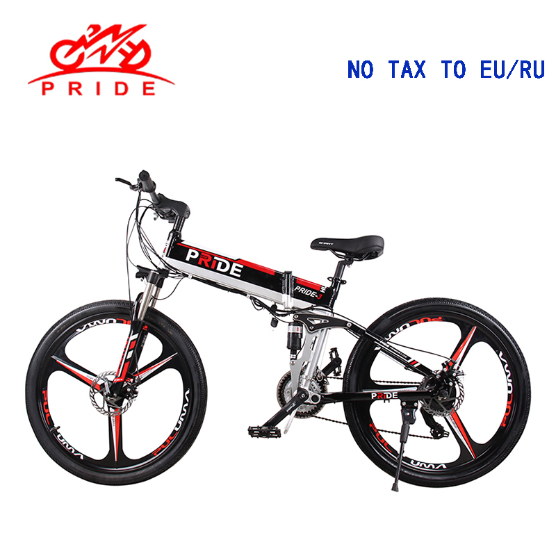 Electric bike 20/26inch Aluminum Fold electric Bicycle 500W Powerful e bike 48V12.5A Lithium Battery 21Speed Mountain Snow ebike