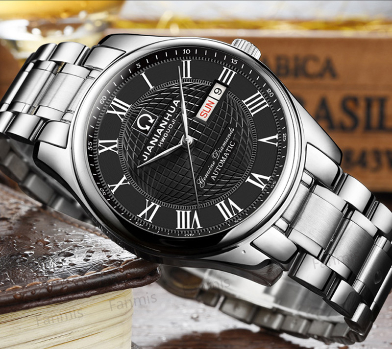 CARNIVAL Watches Men Automatic Mechanical Men Watch Luxury Brand relogio masculino Sapphire stainless steel Mens Wristwatch стоимость