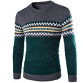 Sweater Men 2017 Brand Pullovers Casual Sweater Male O-Neck Diamond Slim Fit Knitting Mens Sweaters Man Pullover Men XXL DKMS
