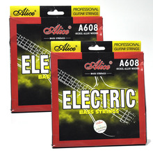 2 Sets Alice A608(4)-M Electric Bass Strings Medium for 4-string Bass j colizzi 4 concerti for string quartet op 2