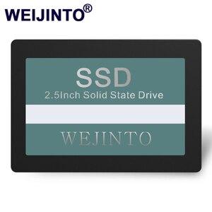 WEIJINTO 2.5 SATA2 SATA3 SSD 16GB 32GB 60GB 120GB 240GB 128GB 256GB 512GB 480GB 960GB 360GB Internal solid state hard drive(China)