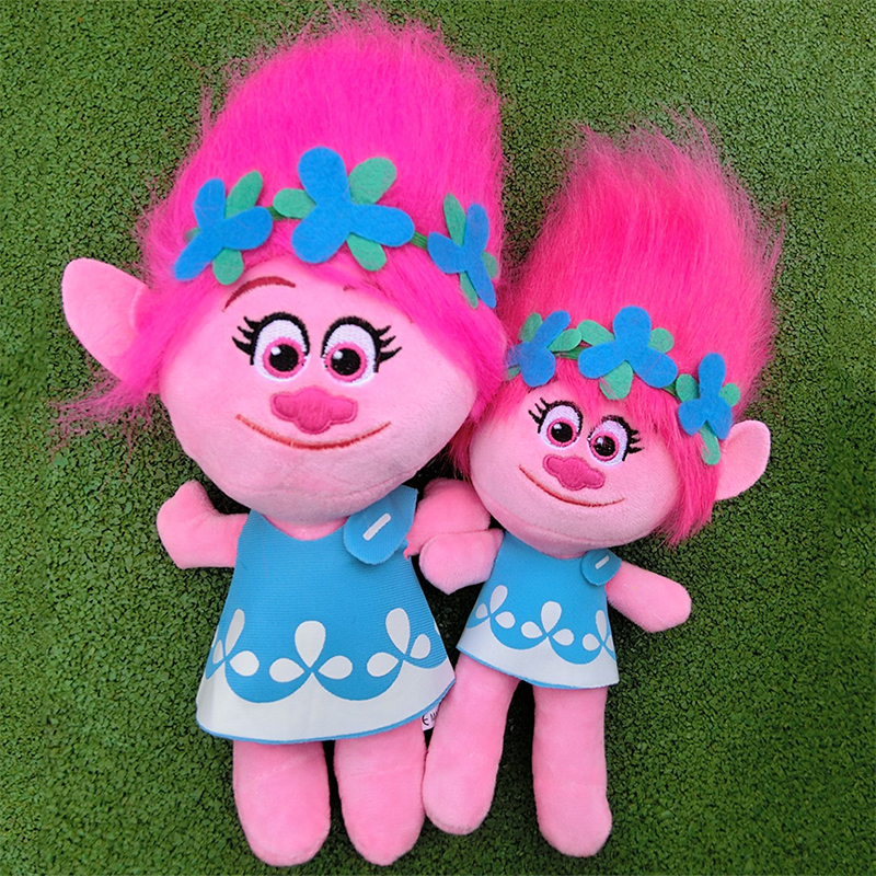 ce7f2c200 20-38cm Movie Trolls Peluche Poppy Branch Dream Works Muñecas ...