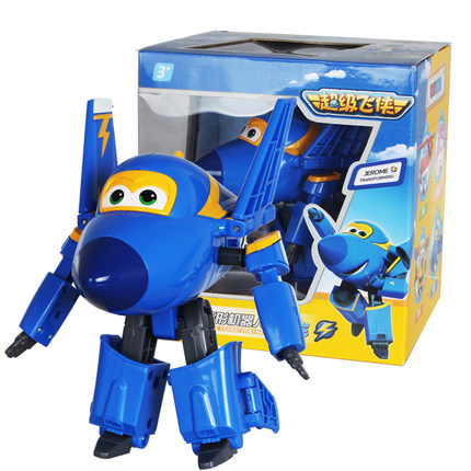 Big Super Wings JEROME Deformation Airplane Robot Action Figures Super Wing Transformation toys for children gift