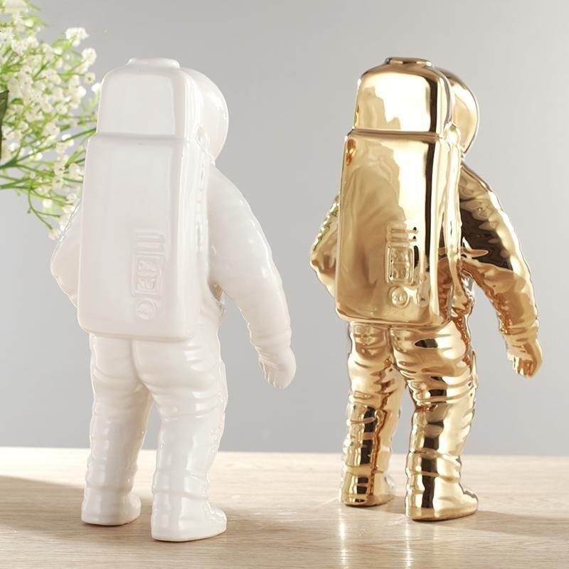 cosmonauta figura modelo ceramica material estatua casa decoracoes estatuetas 03