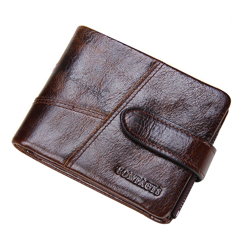 Famous Brand Male Money Card Holder Bag Genuine Leather Men Short Wallet Multifunction Purse Wallets With Coin Pocket hot sale leather men s wallets famous brand casual short purses male small wallets cash card holder high quality money bags 2017