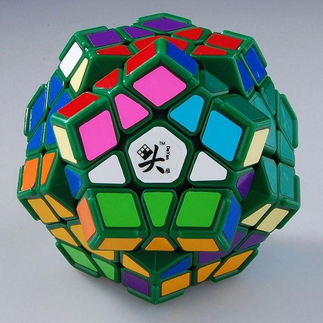 Dayan Gem Cube Cubo Mágico VI Principal Cerebro IQ Juguetes Educación Regalo Juguetes Educativos cubo de la Velocidad Negro Para Los Niños y blanco