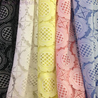 160cm*2yards 5 colors woven elegant jacquard burnout fabric textured polyester cotton fabric shirt skirt luxury dress fabric