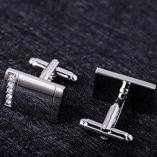 MAISHENOU запонки для мужские брендовые серебряные кнопки с кристаллами недорогие Запонки Свадебные Оптовая продажа Новый магазин открытие Большая скидка