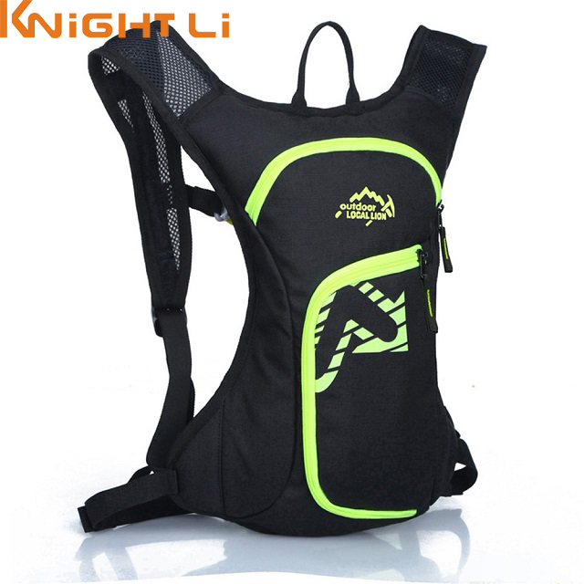 New 12L Rucksack Road Bags Waterproof Cycle Backpack Ultralight Bicycle Packs Hydration Bag Pack Travel Mountaineering Bag 515 12l cycling road backpack bike mountaineering rucksack water proof nylon running outdoor ultralight travel water bag helmet bag