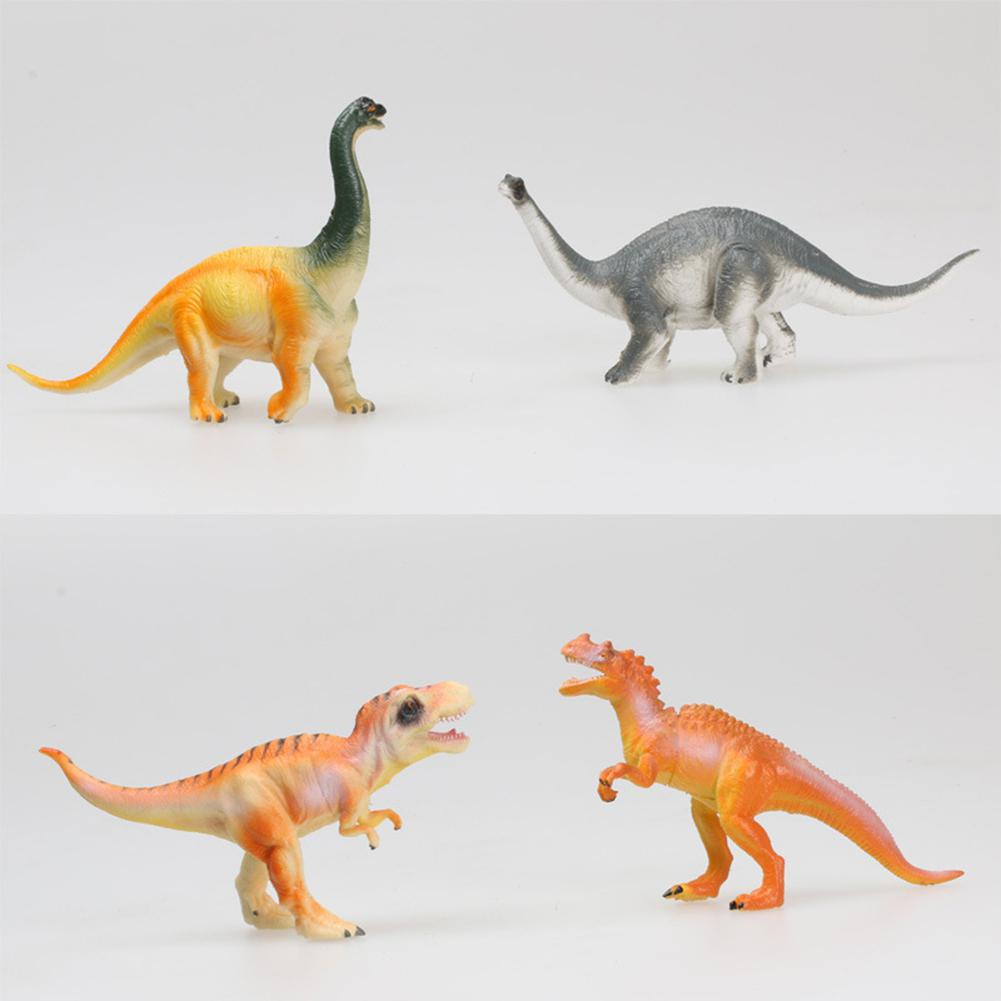 12Pcs Simulate Dinosaur Modeling Puzzle Toys Set for Kids with Box in Action Toy Figures from Toys Hobbies