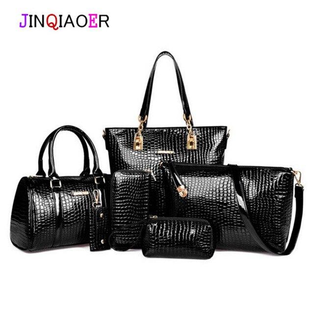 2015 женщин сумки кожаные сумки женщины посыльного сумки дамы бренд дизайн сумка сумки Сумочка Сумка + Сумка + Кошелек 3 Компл.