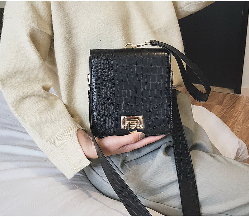 DIINOVIVO Fashion Alligator Female Handbags Designer Crossbody Bags for Women Small Square Bag Shoulder Messenger Purse WHDV0917 10