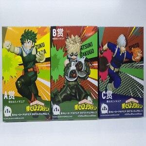 Image 5 - Tronzo My Hero Academia Aksiyon Figürü Boku hiçbir Kahraman Academia Midoriya Izuku Bakugou Katsuki Todoroki Shoto PVC Model oyuncak bebekler