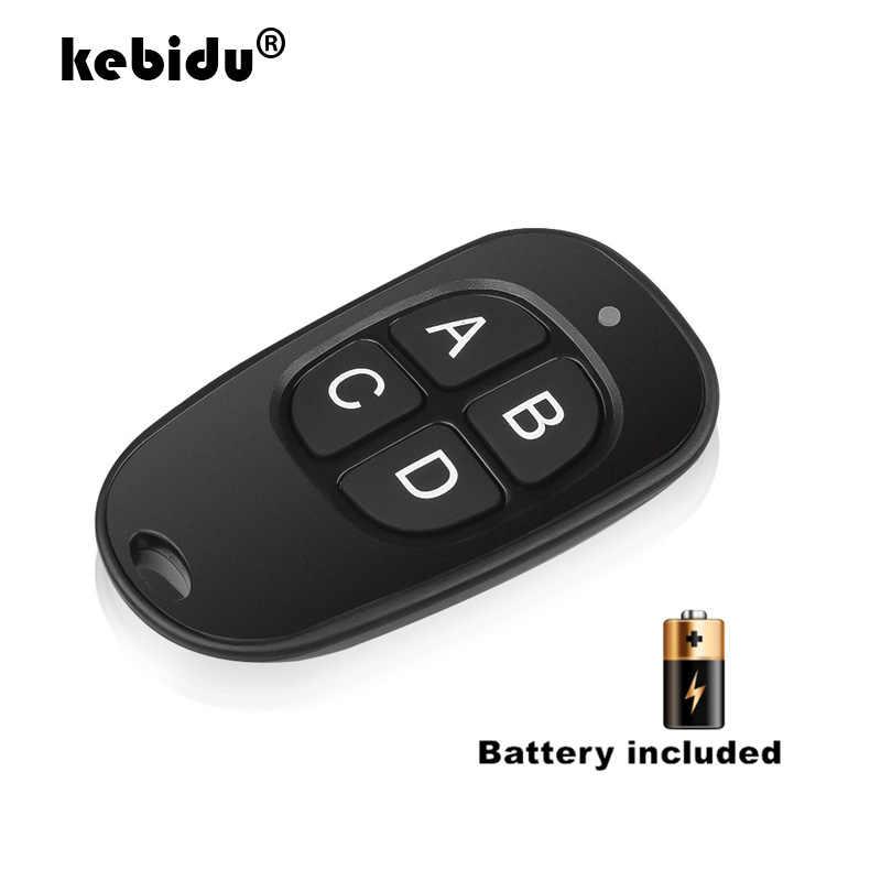 Kebidu اللاسلكية التحكم عن بعد 433Mhz للتبديل التيار المتناوب 220 فولت 110 فولت 120 فولت التتابع وحدة الاستقبال RF الناسخ مفتاح بالجملة