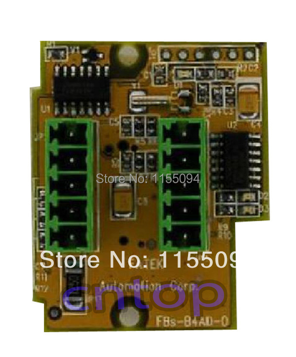 FBs-B4AD Fatek PLC 24VDC 4 AI Module New in box new and original fbs cb2 fbs cb5 fatek communication board