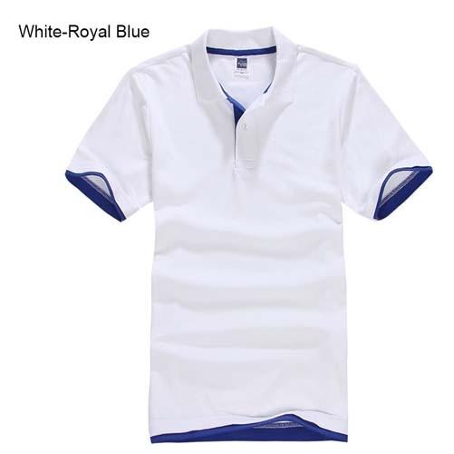 URSPORTTECH Men's Polo Shirt For Men Desiger Polos Men Cotton Short Sleeve shirt Clothes jerseys golftennis Plus Size XS- XXXL 12