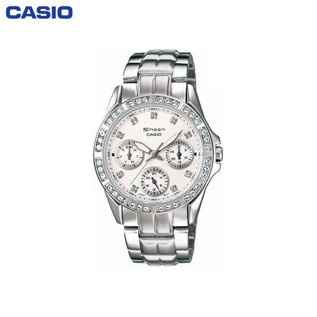 Наручные часы Casio SHN-3013D-7A женские кварцевые на браслете