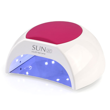Fast Dryer SUN2C UV LED Nail Lamp 48W SUN Light Ice Lamp Nail Dryer Polish Nail Gels Manicure For Curing Light Machine Tools